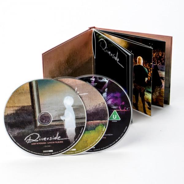 Lost n Found: Live In Tilburg Ltd. 2CD+DVD Mediabook