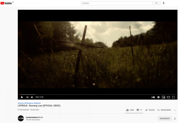 Leprous_Video_RunningLow